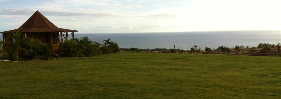 View from back of Lawn of Ocean and Gazebo
